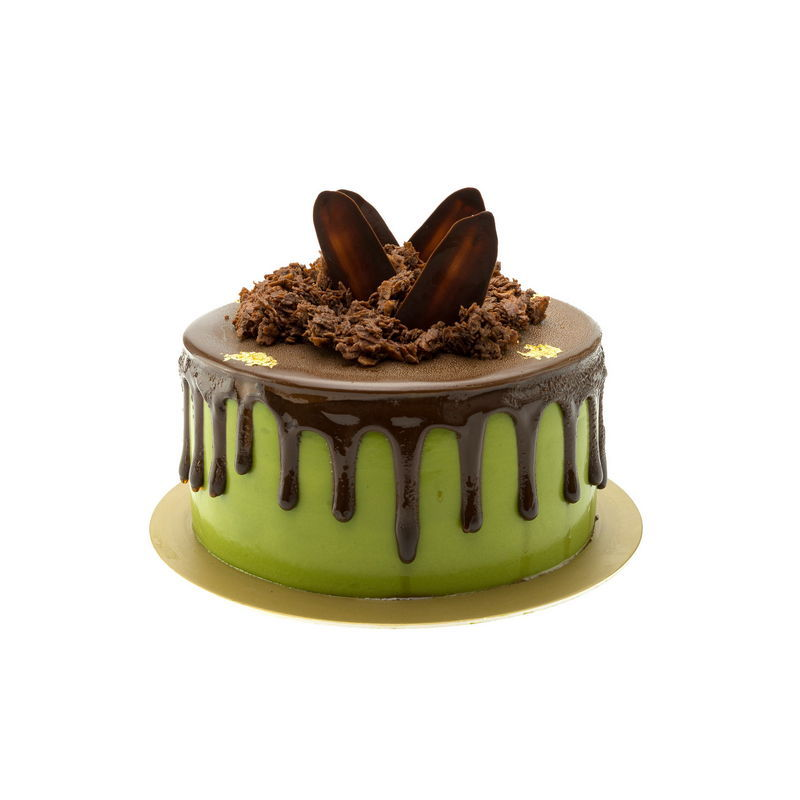 Matcha Green Tea Mousse Cake
